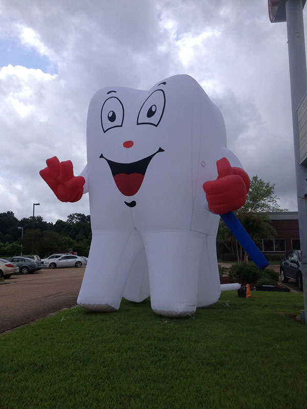 Our 10 ft. tooth!